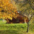 zastřešené grilování na podzim